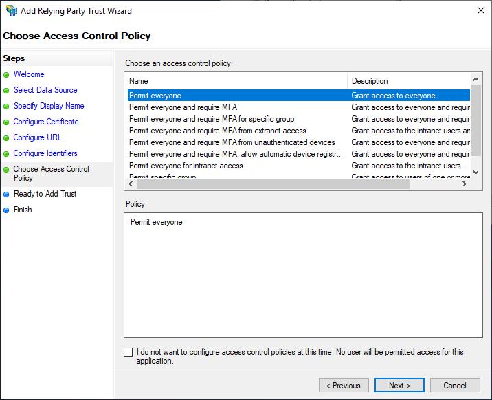 Configuring SonarQube 7 8 on Windows 2019 with ADFS SAML 2 0